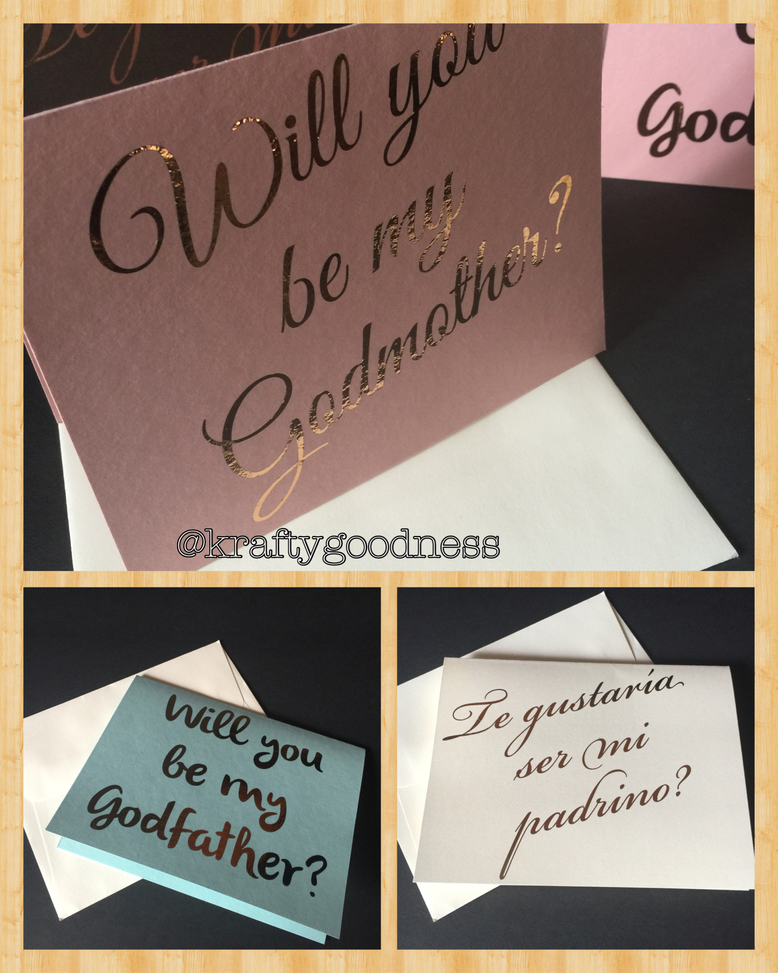 Foil Godmother card